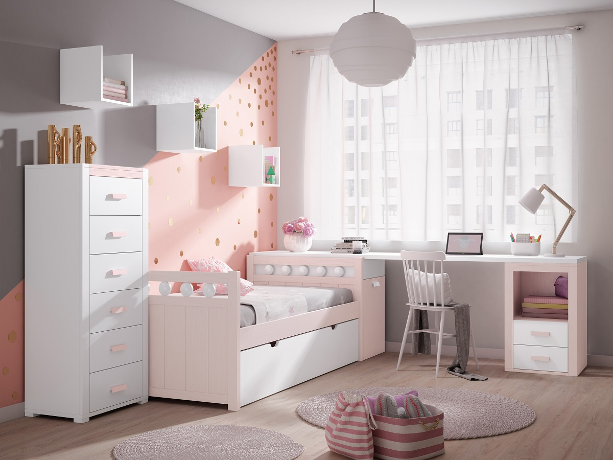 Dormitorios juveniles muebles pacoli for Muebles juveniles asturias