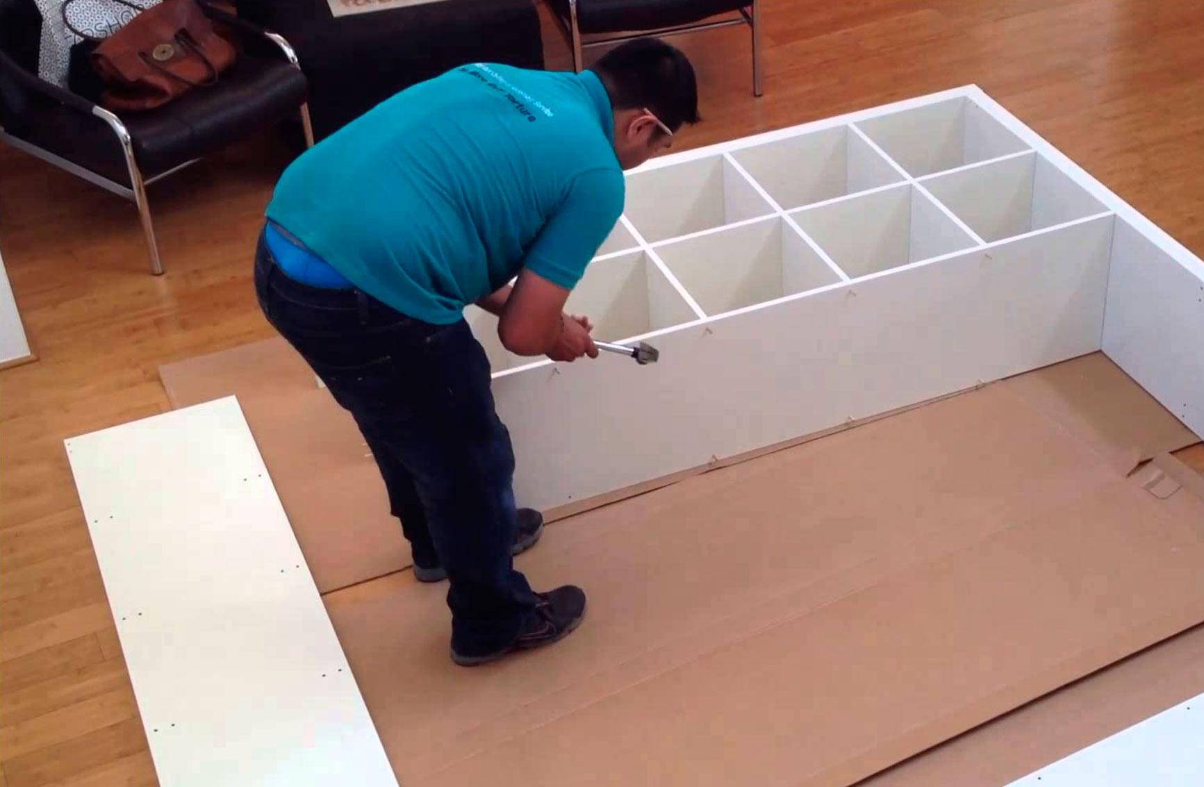 Muebles Pacoli imagen de montaje de muebles